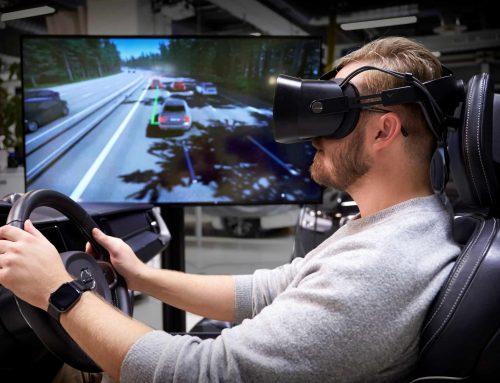 """""""Dokonalý simulátor jazdy"""" od spoločnosti Volvo Cars využíva najnovšiu hernú technológiu na vývoj bezpečnejších automobilov"""